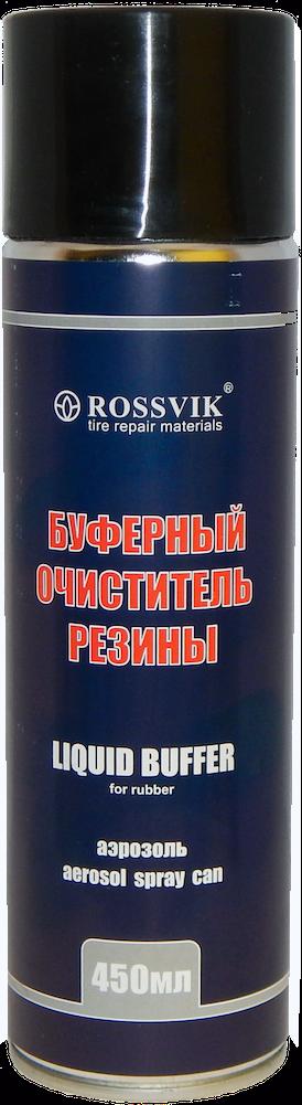 Буферный очиститель резины 450 гр. (спрей) Rossvik