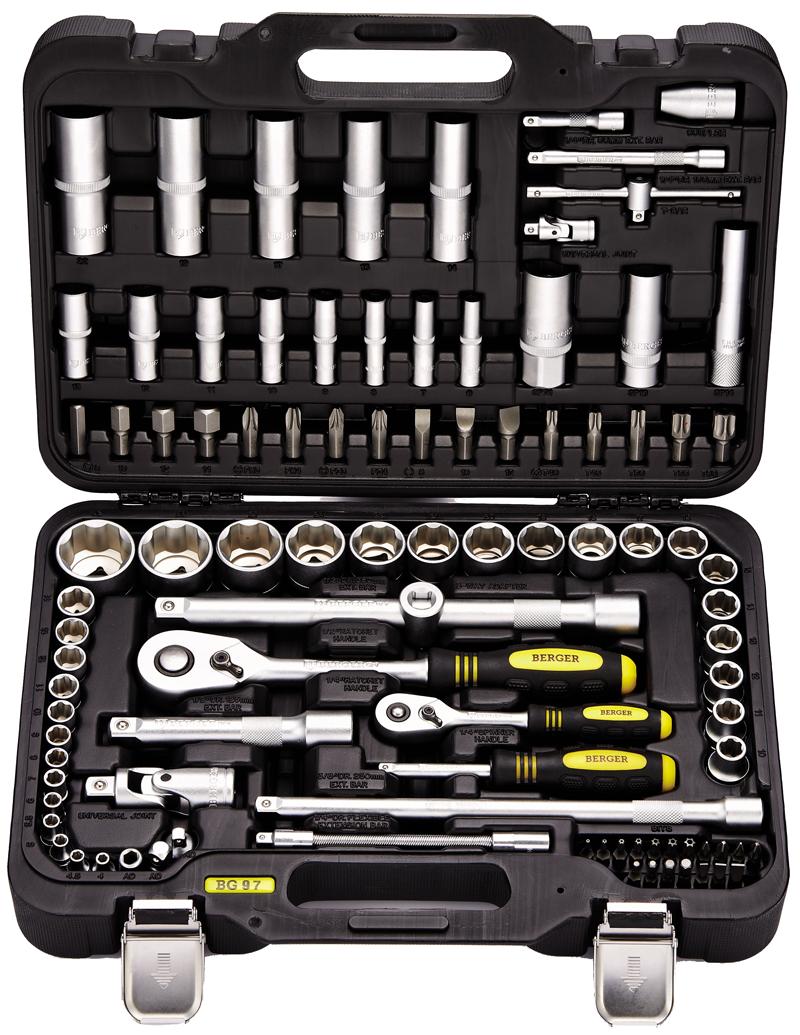 Набор инструмента 97 предмета BERGER BG097-121438