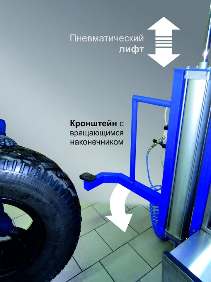 Мойка грузовых колес автоматическая Торнадо-Truck