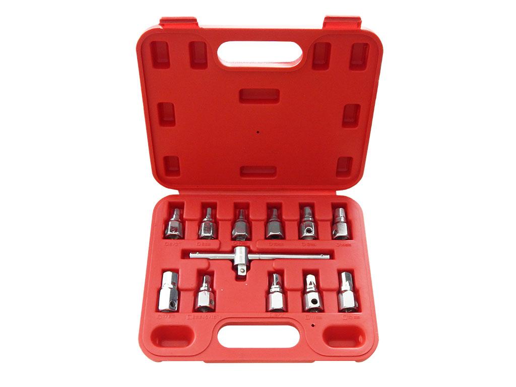 Набор головок для масляных пробок (12пр.) BM-02037 BaumAuto