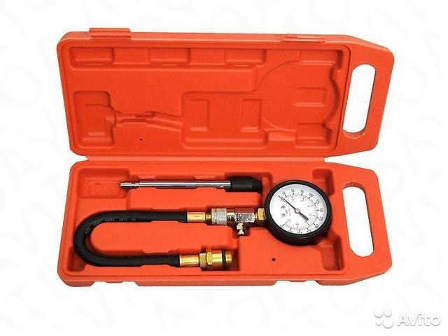 Компрессометр бензиновый, 0-21 bar PA-G324
