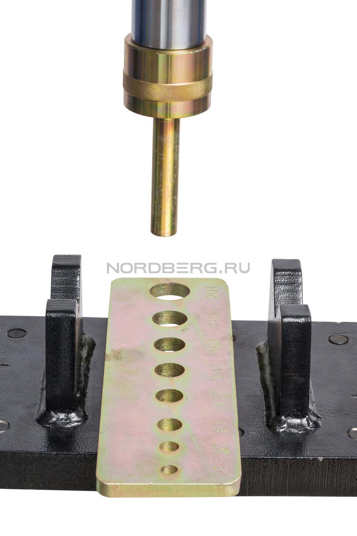 Комплект насадок (пуансонов) c матрицей для гидравл. прессов N36P