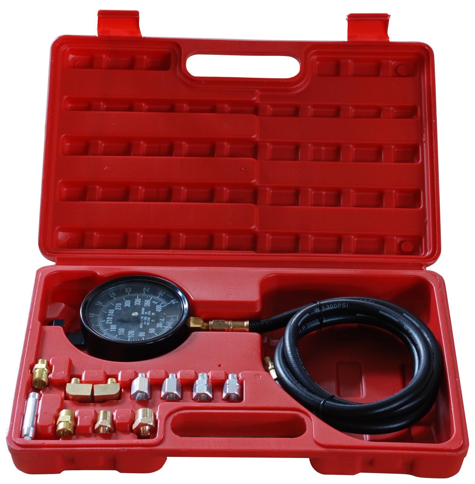 Прибор для измерения давления масла (с набором переходников), 0-35Атм MHR-A1014 AE&T