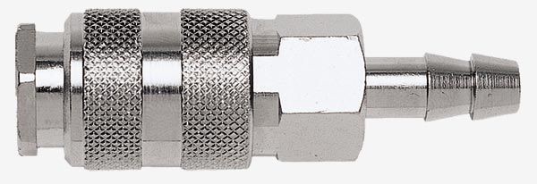 Переходник быстросъемный (мама) A324/4 на елочку 10 мм