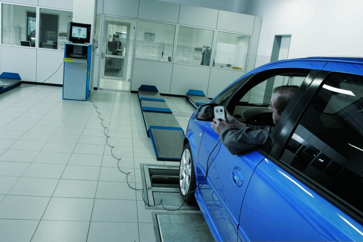 Диагностическая линия PC для автомобилей до 3000 кг на ось. Поиск шумов NTS 800 Пакет 4ND