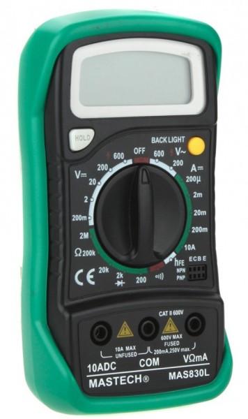 Мультиметр цифровой MAS-830L
