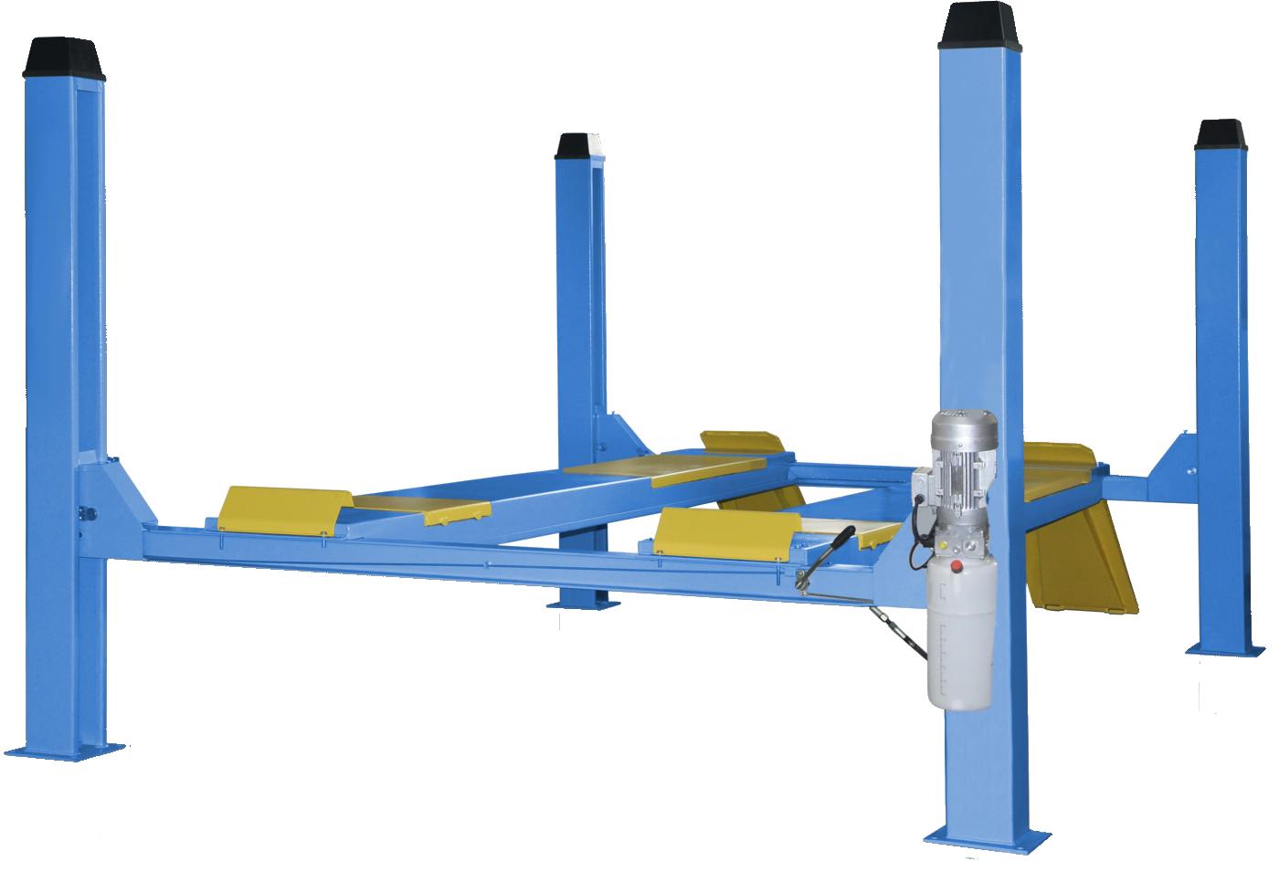Подъемник четырехстоечный TFA5000-3D (без траверсы)
