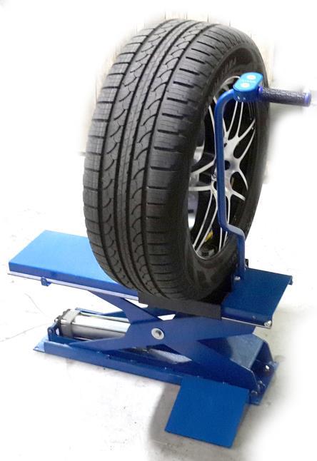 Подъемник пневматический для колес EASY LIFT