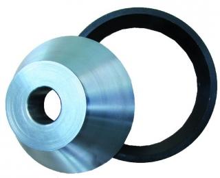 Переходной конус с кольцом для балансировки колес джипов вал 40мм