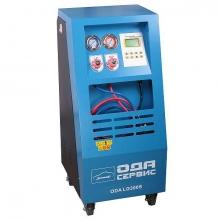 Установка для заправки кондиционеров (полуавтоматическая) N00436 LG 300S
