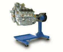 Стенд для разборки и сборки двигателей, КПП, задних мостов и агрегатов универсальный Р-500Е