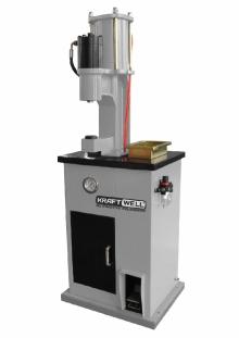 Станок для клепки тормозных колодок пневмогидравлический KRW300S