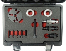Набор для снятия муфты компрессора кондиционера, 12 пр. F-04D1003D Forsage