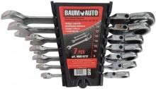 Набор ключей комбинированных трещоточных шарнирн. 7 пр. 8-19мм BM61072F