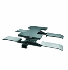 Подъемник ножничный пневматический, г/п 2,5 т. KRW260A KraftWell