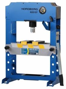 Пресс гидравлический настольный N3515T (15 тонн) Nordberg PRO
