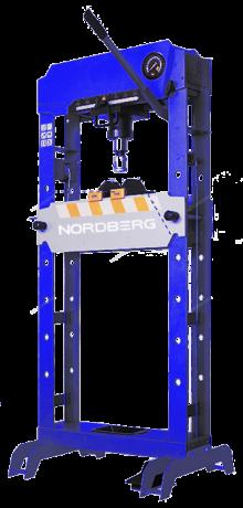 Пресс пневмогидравлический напольный N3530A (30 тонн) Nordberg PRO