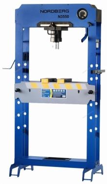 Пресс гидравлический напольный N3550 (50 тонн) Nordberg PRO
