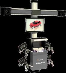Стенды развал-схождения 3D, HWA-V08