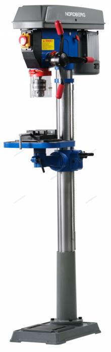 Станок сверлильный (900 Вт, 20 мм, расстояние до стола 685 мм, 12 скоростей, тиски) ND25120