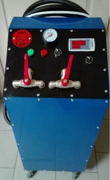Стенд для промывки радиатора печки