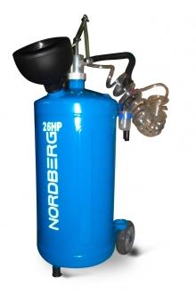 Нагнетатель масла 26HP (бак 30л) ручной