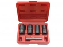 Набор головок экстракторов для поврежденных болтов, 17, 19, 21, 22 мм (5 пр.) 906U2 Forsage