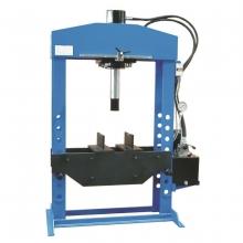Пресс электрогидравлический напольный с подвижным цилиндром OMA666B (100 тонн)