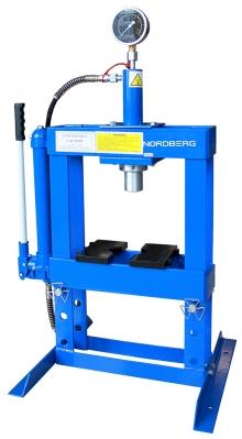 Пресс гидравлический настольный N3610 (10 тонн)