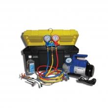 Установка для вакуумирования и заправки систем кондиционирования (портативное) SMC-042-1+