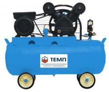 Компрессор поршневой TC100 LA-330A ТЕМП