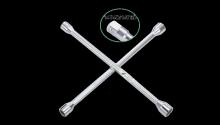 Ключ балонный крестовой 17х19х21х1/2 мм, 16 1474D Hans