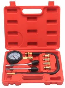 Компрессометр бензиновый с набором переходников 0-20 bar TA-G1005