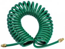 Шланг спиральный с наружной резьбой 1/4 (8х12), 15м 8605-815 Hans