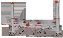Стапель платформенный SIVER C-210