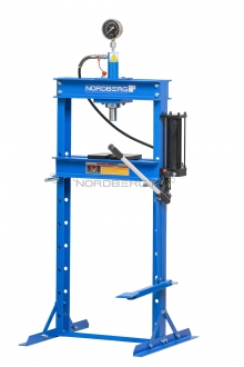 Пресс гидравлический напольный с ножным приводом N3612F (12 тонн)