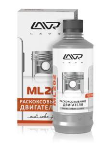 Препарат для раскоксовывания двигателя LAVR ML202, 0,33 л