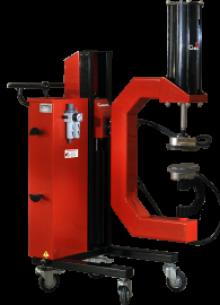 Вулканизатор для грузовых автомобилей Эльф (с пневматическим приводом)