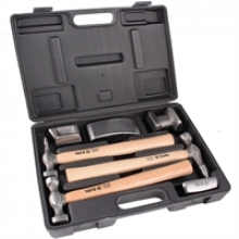 Набор рихтовочный (наковальни, молотки) 7пр. YT-4590 YATO
