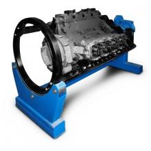 Стенд для разборки и сборки двигателей, КПП, задних мостов и агрегатов Р776Е