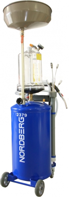 Установка для замены масла 2379 (бак 65л)