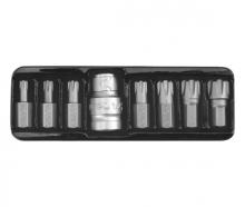 Набор бит, 1/2 M5-M14 RIBE (8 пр.) YT-0418 YATO