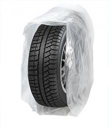 Пакет для колес 110см*110см, 15мкм (уп. 100 шт)
