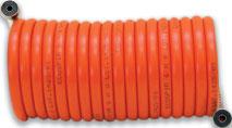 Шланг спиральный (байонет) L111/25, диаметр внутр./наружний (8х10), 10м