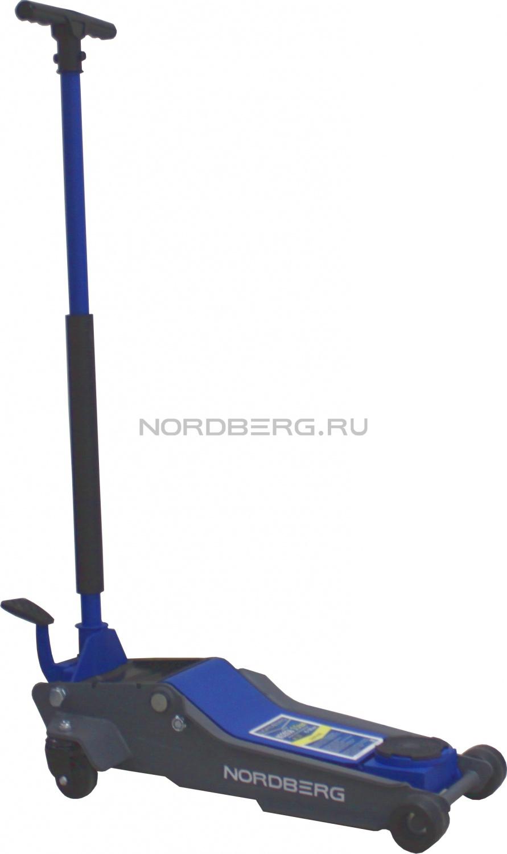 Домкрат подкатной гидр. N32036 с Т-обр. ручкой, г/п 3,5т