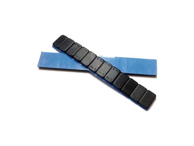 Груз балансировочный самокл. тонкий Fe 60 гр. Black